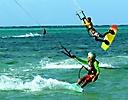 Kite Surfing Kids on Tobago
