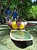 Surfing at Mount Irvine Beach Tobago